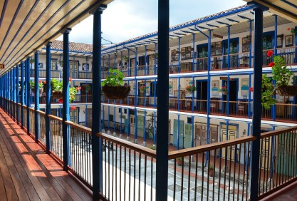 Casa de la Cultura in Marsella, Risaralda, Colombia