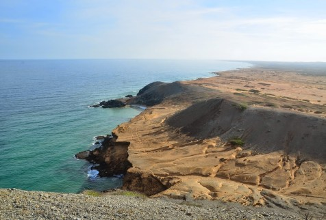 View from the top of Pilón de Azúcar, La Guajira, Colombia