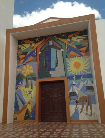 Iglesia Santa Rita de Casia in Manaure, La Guajira, Colombia