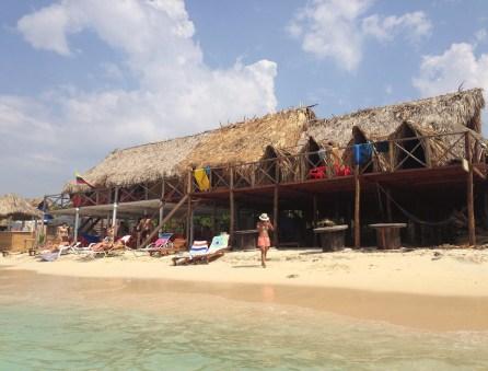 Hostal Playa Blanca, Isla de Barú, Colombia