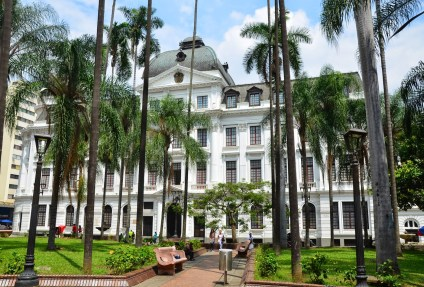 Palacio Nacional in Cali, Colombia