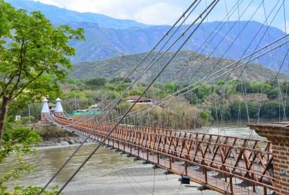 Puente de Occidente in Santa Fe de Antioquia, Colombia
