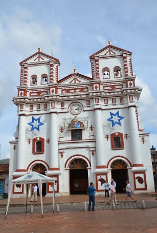Church in Guatapé, Antioquia, Colombia