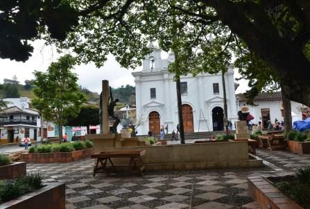 Plaza in El Retiro, Antioquia, Colombia