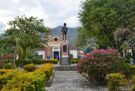 Plazoleta de la Chinca in Santa Fe de Antioquia, Colombia