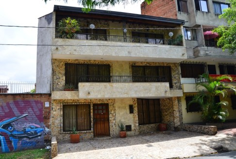 The home where Escobar was hiding in Medellín, Colombia