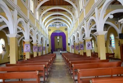 Church in Pueblo Rico, Risaralda, Colombia