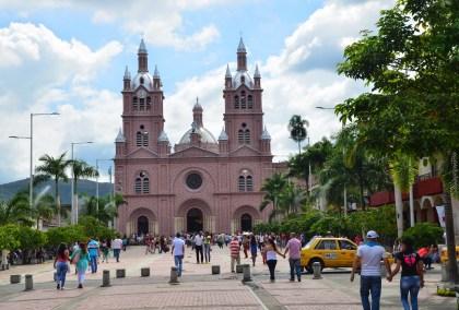 Basílica del Señor de los Milagros in Buga, Valle del Cauca, Colombia