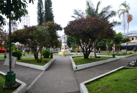 Plaza de La Candelaria in Riosucio, Caldas, Columbia
