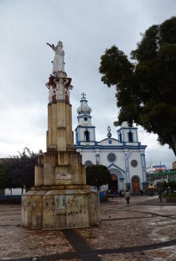 Plaza La Pola in Ipiales, Nariño, Colombia