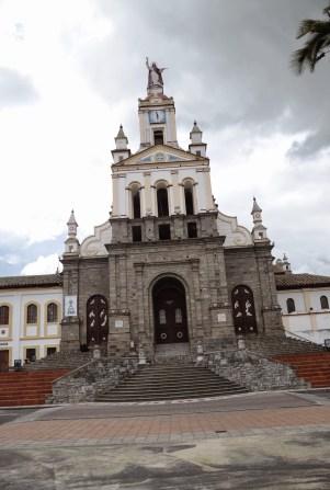 Church in Cotacachi, Ecuador