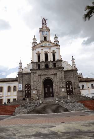 Church in Cotacachi, Ecuador