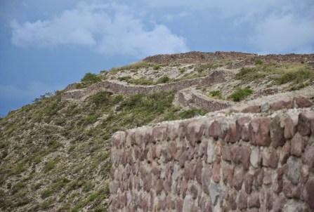 Rumicucho ruins at Mitad del Mundo in Ecuador