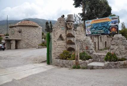 Museo Intiñan at Mitad del Mundo in Ecuador