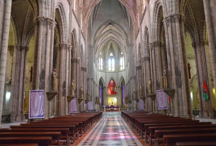 Basílica del Voto Nacional in Quito, Ecuador