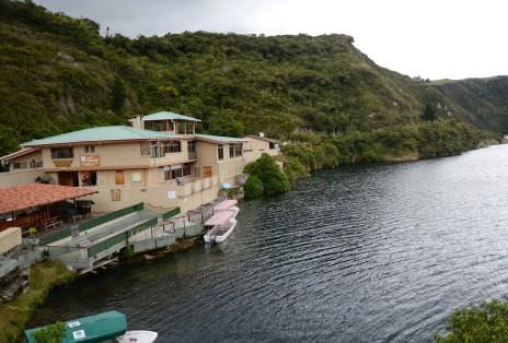 Laguna Cuicocha in Ecuador
