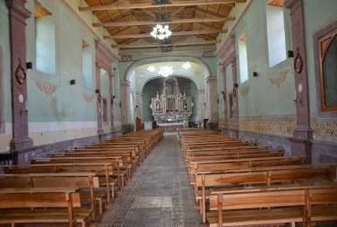 Iglesia de San Blas in Quito, Ecuador