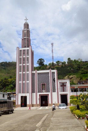 Church in La Celia, Risaralda, Colombia
