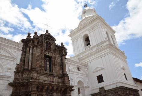 Monasterio de San Agustín in Quito, Ecuador