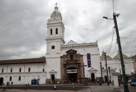 Iglesia de Santo Domingo in Quito, Ecuador
