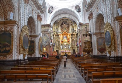 Iglesia de La Merced in Quito, Ecuador