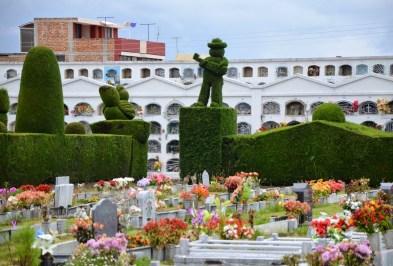 Cementerio de Tulcán in Ecuador