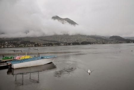 Laguna de San Pablo near Otavalo, Ecuador
