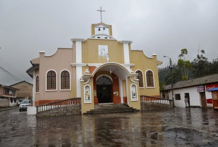 Church in Peguche, Ecuador