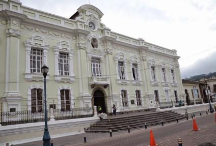 Town Hall in Otavalo, Ecuador