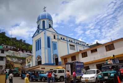 Church in Balboa, Risaralda, Colombia