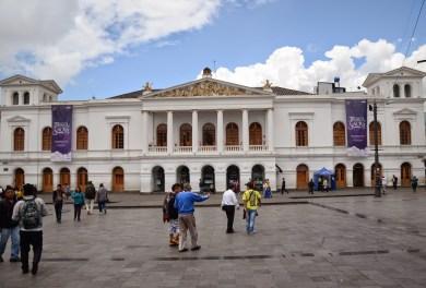 Teatro Sucre in Quito, Ecuador