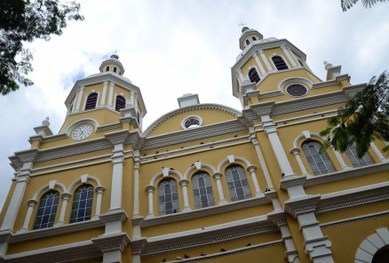 Church in Supía, Caldas, Colombia