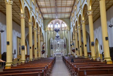 Church in Supía, Caldas, Colombia