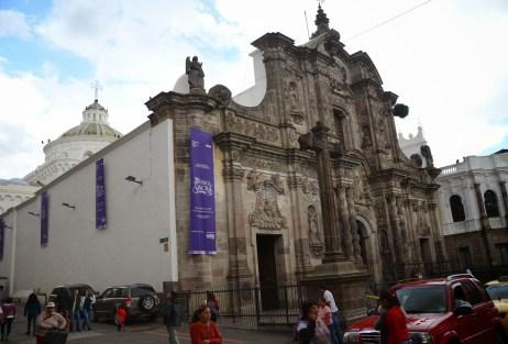 La Compañía de Jesús in Quito, Ecuador