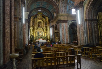 Iglesia de El Sagrario in Quito, Ecuador