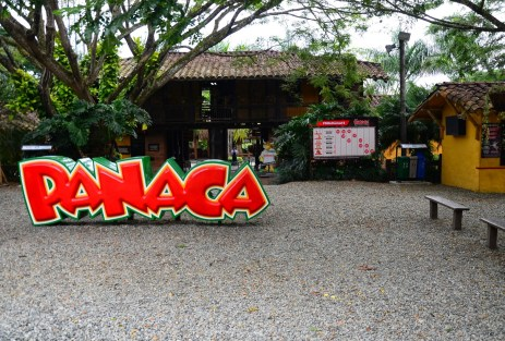 Entrance to Panaca in Colombia