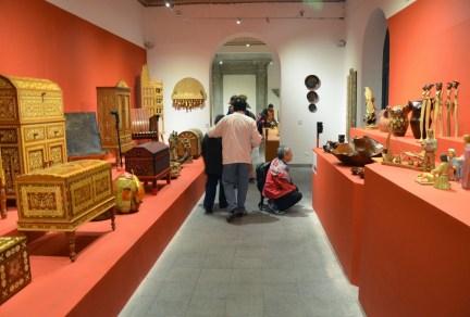 Museum at Centro Cultural Metropolitano in Quito, Ecuador