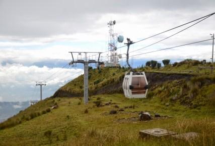 TelefériQo in Quito, Ecuador