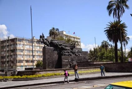 Parque La Alameda in Quito, Ecuador
