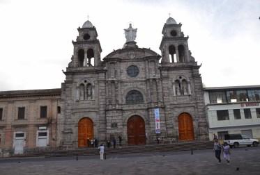 Iglesia de La Merced in Ibarra, Ecuador
