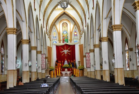 Church in Chinchiná, Caldas, Colombia