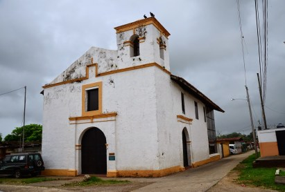 Capilla San Juan de Díos in Portobelo, Panama