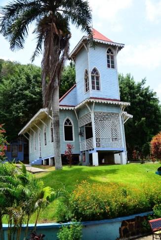 Afro-Antillean village in Panama City