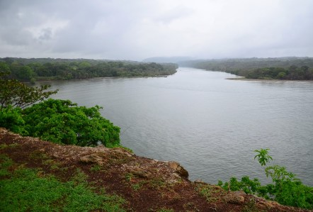 Río Chagres from Fuerte San Lorenzo in Panama