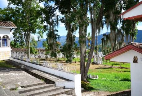 Cemetery in Salamina, Caldas, Colombia