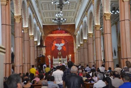 Church in Neira, Caldas, Colombia