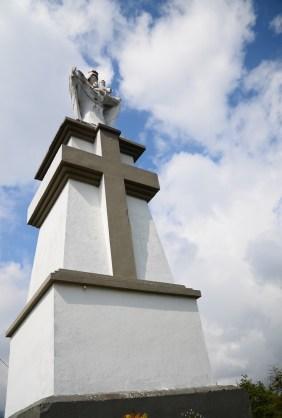 Monument at Cerro Pan de Azúcar in Ibagué, Tolima, Colombia