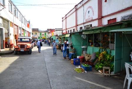 Market in Salamina, Caldas, Colombia