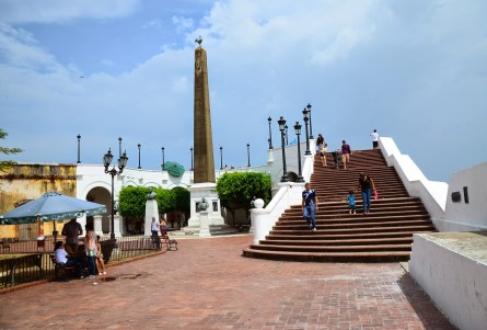 Plaza de Francia in Casco Viejo, Panama City