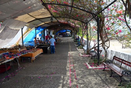 Paseo de Las Bóvedas in Casco Viejo, Panama City